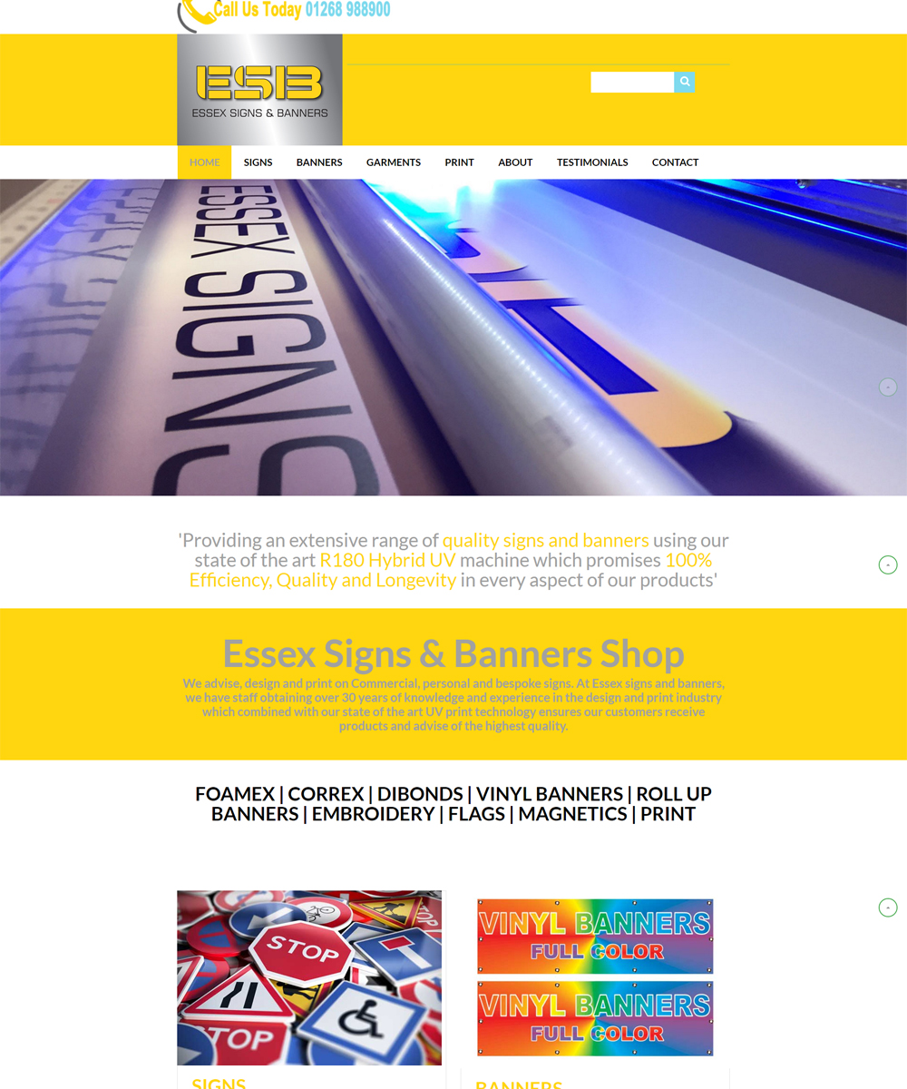 Essex signs & Banners